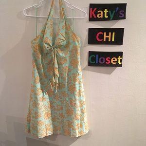 Gap Blue/Orange Dress 6